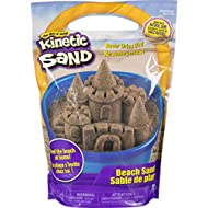 Kinetic Sand, 3lbs Beach Sand for Ages 3 and Up (Packaging My Vary)