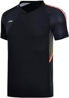 LI-NING Men Badminton T Shirts Athletic Sports Tees AAYN031 AAYN165 AAYN035 AAYP063 AAYM037