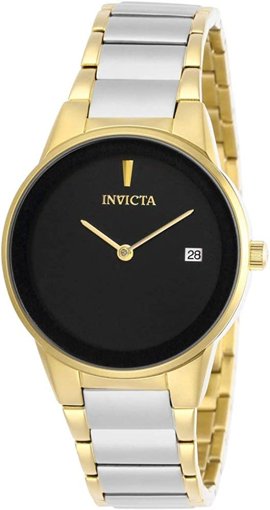 流行 蔵 Invicta Specialty Quartz Black Dial Ladies Watch 29483
