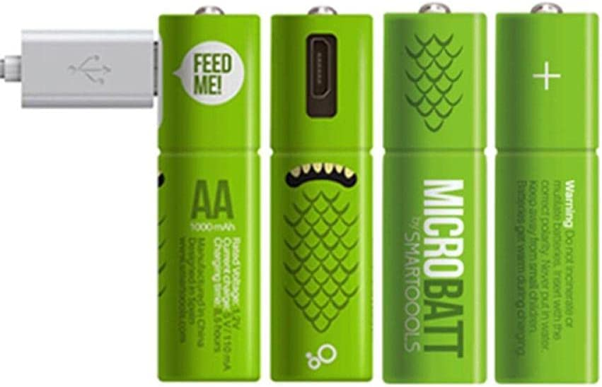 4PCS USB Rechargeable Battery AA1.2V Hydrid 1000mAh Nickel Metal Surprise price Brand Cheap Sale Venue