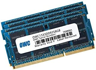Other World Computing OWC 増設メモリキット PC3-10600 1333MHz SO-DIMM for iMac Mid 2010 Mid 2011 Macbook Pro 2011 Mac mini 2011 他 32GB (8GB×4)