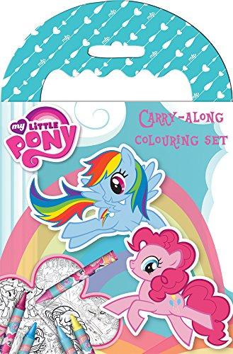 Anker MYCAR - Cuaderno para colorear de 64 hojas, diseño My Little Pony