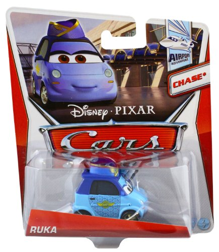 Disney Pixar Cars Ruka (Airport Waitress) *Chase* (Airport Adventure, #7 of 7) - Voiture Miniature Echelle 1:55