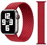 Best Apple Watch 1 Bands - Braided Elastic Nylon Fabric Solo Loop Strap B Review