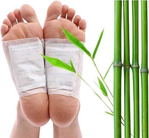 Detox Fußpflaster - 20 Stück Fusspflaster, Entgiften, Entgiftung, lindern von schmerzen und Verbesserung vom Schlaf, Gesundheitspflege, Schmerzlinderung, Fuß pads zum Entfernen von Körpergiften
