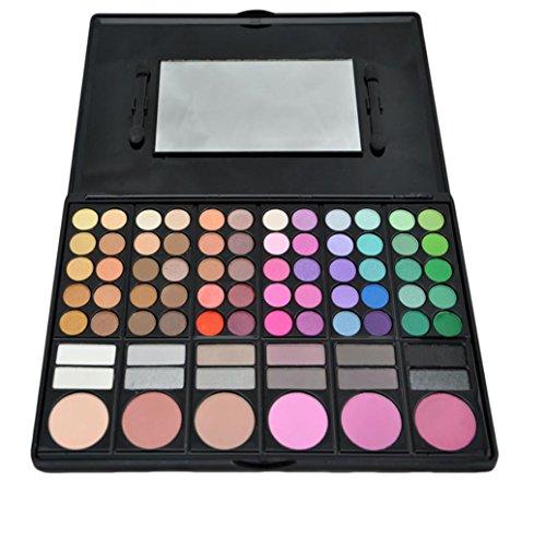 MZP 78 couleurs fard à paupières fard à joues poudre sourcils 2# composite