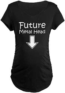 Future Metal Head Maternity Dark Maternity Tee