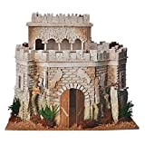 Holyart Castello Arabo per presepe in Sughero