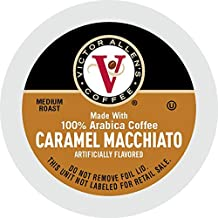 Caramel Macchiato for K-Cup Keurig 2.0 Brewers, 42 Count, Victor Allen's Coffee Medium Roast Single Serve Coffee Pods