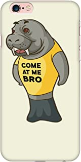 Manatee Come at Me Bro Commercial Novelty Smart Phone Case for iPhone (iPhone 6 Plus/6s Plus)