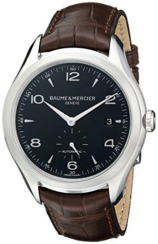 Baume & Mercier BMMOA10053 - Orologio da polso da uomo, cinturino in pelle