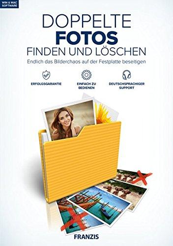 FRANZIS Doppelte Fotos finden und löschen|2018|3 Geräte|zeitlich unbegrenzt|Windows 10/8.1/8/7 & Mac OS X 10.7-10.13.3 High Sierra|Disc|Disc