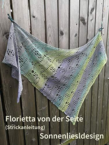 Florietta von der Seite: Strickanleitung