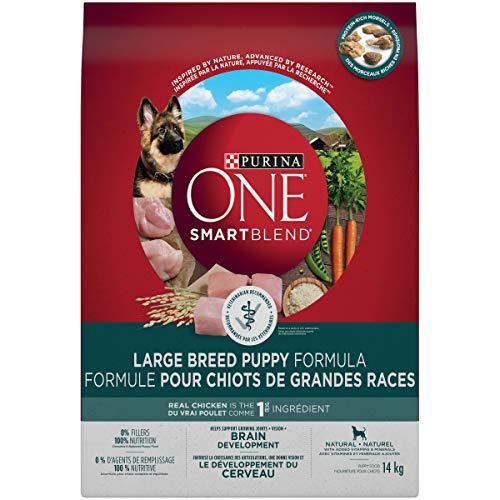 Purina ONE Smartblend Croquettes pour chiots de grande race Sac de 14 kg