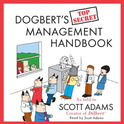 『Dogbert's Top Secret Management Handbook』のカバーアート