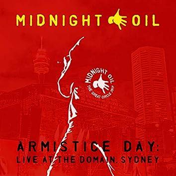 Armistice Day: Live At The Domain, Sydney