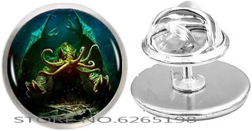 Kraken Limited price sale Cthulhu Pin Brooch Brooc Minimalist Fine Regular dealer Jewelry