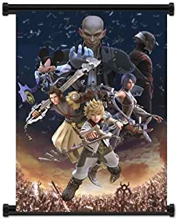 Wall Scrolls 1 X Kingdom Hearts Birth by Sleep Game Fabric Poster (16