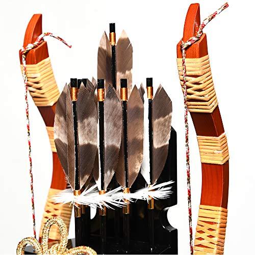 【破魔弓】13号鉄刀木矢籠飾[SIKO]【正月飾】【破魔矢】