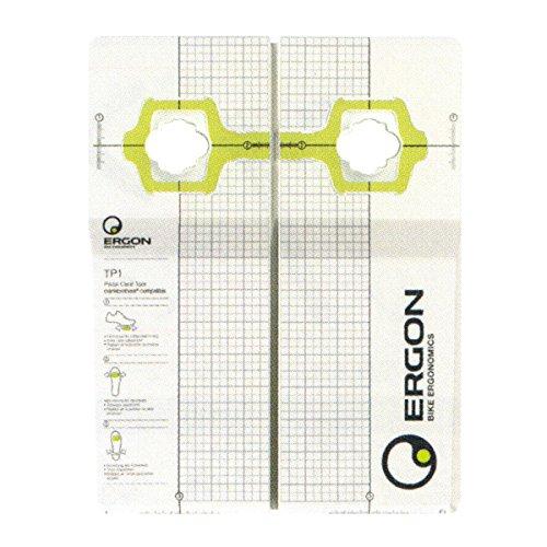 Ergon 48000000 Tp1 Strumento di installazione tacchetti per pedali Shimano, Crank Bros, Bianco, Taglia unica