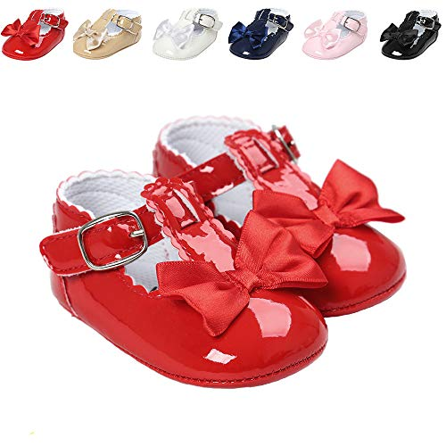 Infant Girl Red Shoes