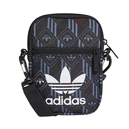adidas Monogram Festival Mini Bag Bandolera, color Negro, talla Einheitsgröße