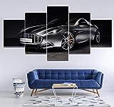 Airxcn Leinwand Bild 5 Teil Panels Wandkunst Druck
