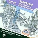 Bohuslav Martinu : Musique de Chambre pour Violon et pour Alto