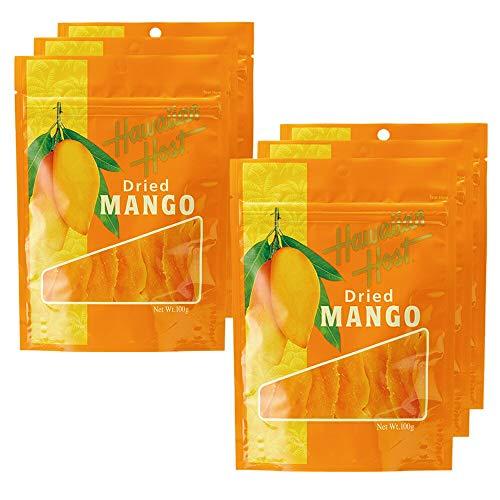 ハワイアンホースト(Hawaiian Host) ドライマンゴー 6袋セット【ハワイ おみやげ(お土産) 輸入食品 スイーツ】