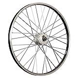 Taylor-Wheels 24 Zoll Vorderrad Büchel Alufelge/Nabendynamo DH-C3000 - Silber