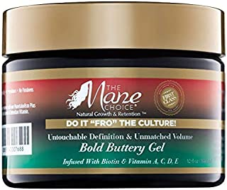 """THE MANE CHOICE Do It 'FRO"""" The Culture Untouchable Definition & Unmatched Volume Bold Buttery Gel (350mls/350 Millilitres)"""