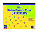 Includes (2,990+) mini stickers for teachers Mini sticker book measures 11.5'' W x 9.4'' H Let your students know they are doing a great job by rewarding them with these fun and vibrant mini stickers. Perfect for reward charts, homework assignments, ...