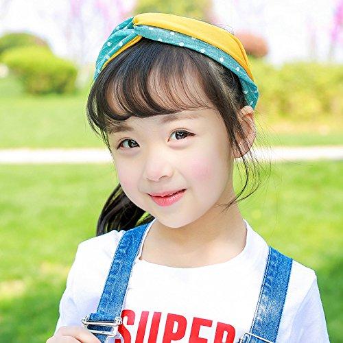 MultiKing Hoofdband voor meisjes, haar, van Koreaans kind, band, hoofdtooi prinses, wild baby, haaraccessoire, stof, meisjes, bloemen