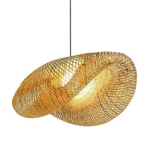 BarcelonaLED Lampe en osier avec culot E27 VIMET 60cm