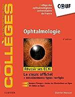 Ophtalmologie de Collège des Ophtalmologistes Universitaires de France
