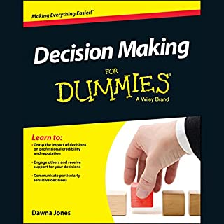 Decision Making for Dummies audiobook cover art