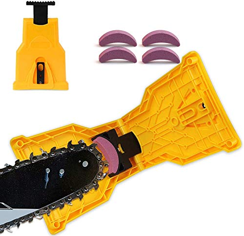EYBS Chainsaw Sharpener, Portable Chain Saw Blade...