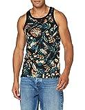 Superdry Supply Vest Camiseta sin Mangas, Negro (Black AOP Yfc), M para Hombre
