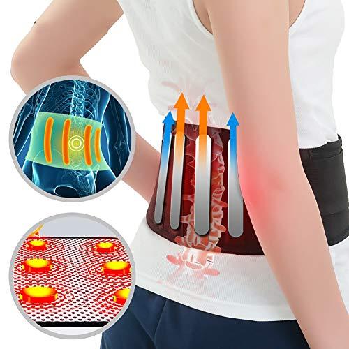 BNBXP 1 Stück Selbst-Heizung Mit 4 Platte Magnet Turmalin Gürtel Für Die Zurück Mit Taille Ceinture Turmalin Unterstützung Klammer Massager
