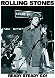 Rolling Stones Poster Ready Steady GO