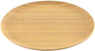 GOLD CRAFT 木製 トレー お盆 プレート 食器 皿 カフェ トレイ Natural Plywood 日本製 (トレー Round L(シオジ))