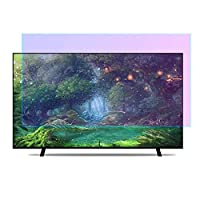 ブルーライトモニタースクリーンプロテクター、アンチグレアリリーフ スクリーンフィルター 目の疲れを和らげる ウルトラクリア スクリーンプロテクター LCD、LED、OLED、QLED 4K, HDTV用 (Color : Clear, Size : 37 inch-819x460mm)