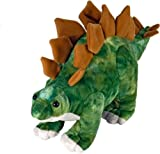 Wild Republic Stegosaurus Plush, Dinosaur Stuffed Animal, Plush Toy, Gifts for Kids, Dinosauria 10 Inches, Multicolor