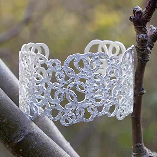 Silberarmreif Kreis handmade Armreif Silber 925 Armband Brautschmuck