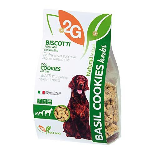 2G PET FOOD Basil Cookies - 350 g