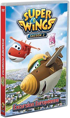 Super wings, saison 2, vol.1 : excursion européenne [FR Import]