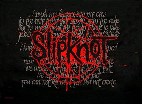 Slipknot-bespritzt 76,2x 101,6cm Textil/Stoff Poster