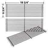 SHINESTAR Grill Grates for Char Griller Duo 5050 5650 5072 Gas Grill, for 2121 2823 2828 Charcoal Smoker Grill...