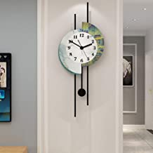 Wall Clock - Acrylic/Metal Pointer/Personality/Home/Clock, Fashion Wall Clock Living Room Bedroom Creative Mute Clock Wall...