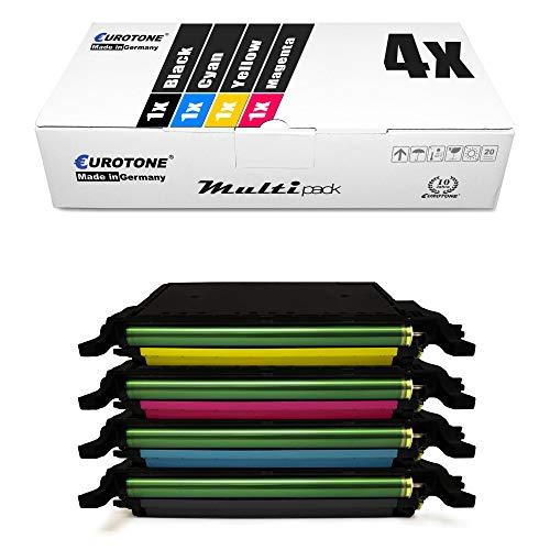 4X Eurotone Toner für Samsung CLX 6220 6250 FX ersetzt CLT-5082L